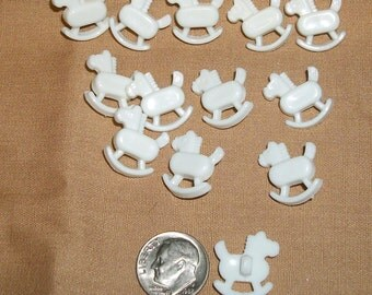 Rocking Horse novelty buttons, so cute!