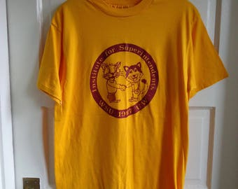 Vintage 80s WSU Superintendents Alumni T Shirt sz S/M