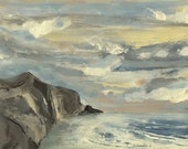 Big Sur #1- Original Acrylic Painting