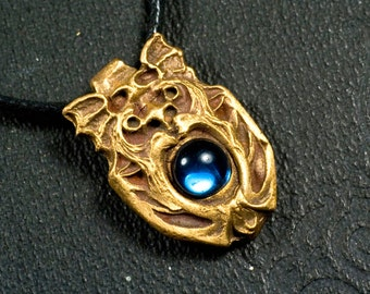 Pendant, Lion, Dragon, Gargoyle, steampunk