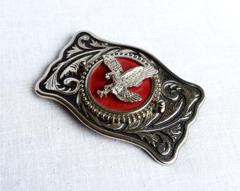 Vintage eagle belt buckle…flying eagle buckle.