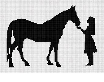 Needlepoint Kit or Canvas: Horse Friends