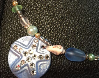 Blue Starfish Sea Inspired Necklace