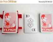 SALE Vintage Flinch card game 1970s Retro Game night Fathers Day