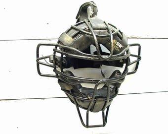 Retro Baseball Catchers Mask - Man Cave - Restaurant Decor