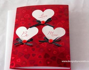 Love Be Mine Valentine's Day Card