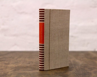 "Recycled Book Sketchbook Tartuensis Classic ""Natural"" with Dotted Paper"