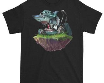 Shark Lawn mower t shirt