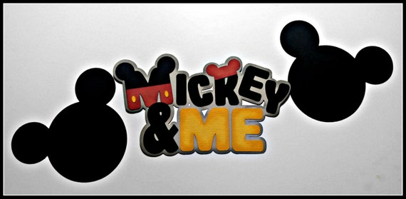 Mickey and Me Title