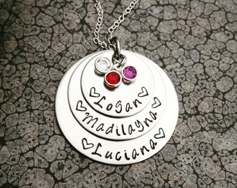 Mother's Necklace Mother's Day Gift Personalized Mothers Jewelry Mother's Necklace Gift for Mom