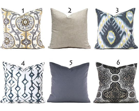 Throw Pillow Insert Sizes : Pillow Covers ANY SIZE Decorative Pillows Pillow Inserts Best