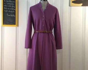 1980's Checkaberry Dress with Belt