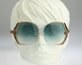Yves Saint Laurent 7891 YD / Vintage sunglasses / NOS / 70s rare oversize sunglasses