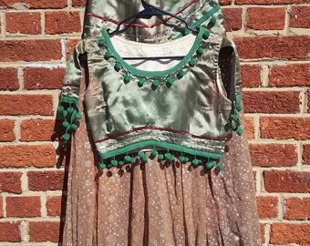 Vintage 40s 50s Bellydancer Costume // Harem Genie Outfit
