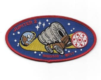 Lost In Space TV series Jupiter 2  Logo Iron on or Sew on Patch