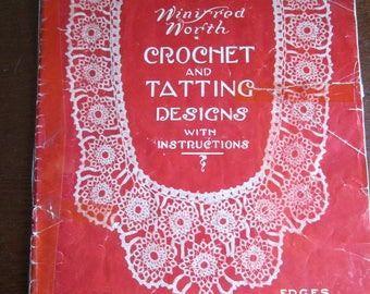 Crcheting and Tatting Designs qith Instructions