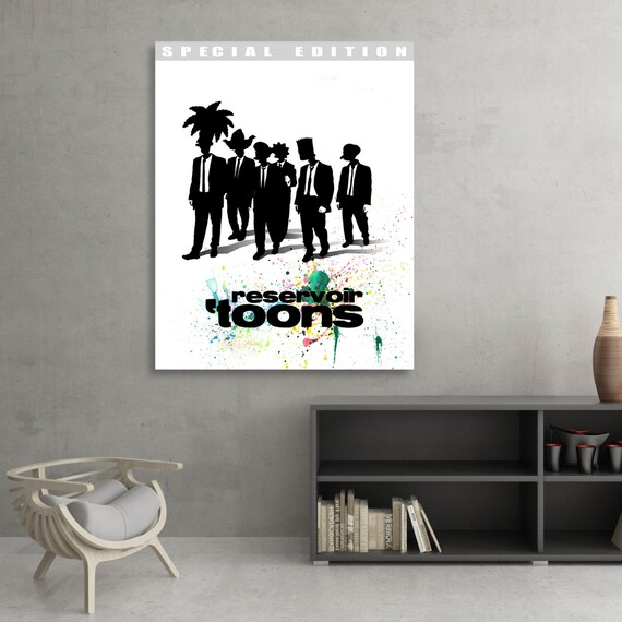 Reservoir Dogs  The Simpsons Inspired Fan Art SIGNED Fine Art Print