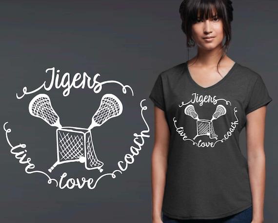 Coach Gift   Lacrosse Coach   Lacrosse Tee   Lacrosse T-shirt   Custom T-shirts   Personalized T-shirts   Korena Loves