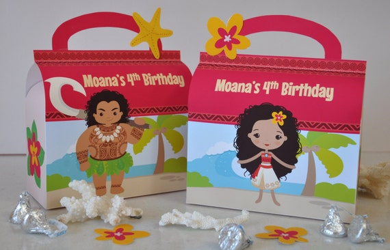 Disney Moana Personalized Gift Box