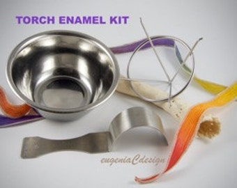 Torch Enamel Kit by Eugenia Chan