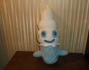 Life Size Vanillite Pokemon  Crochet Amigurumi
