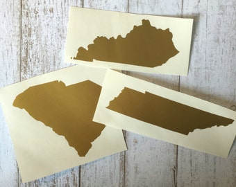 State Decal 3""