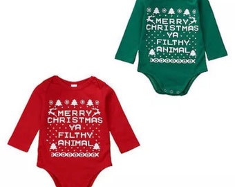 Home Alone Onesie - Red