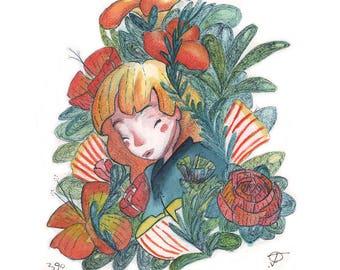 SPLENDOR ~ Original Watercolor Painting