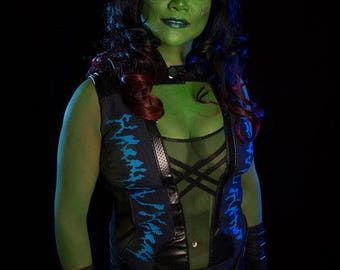 Gamora costume from Guardians of the Galaxy