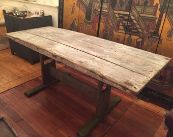 HOLD Primitive Farm Table