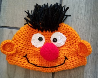 Crochet Ernie Hat