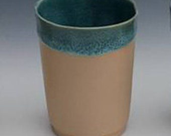 Juice Cup, Peach & Rainforest small cup, porcelain wine cup