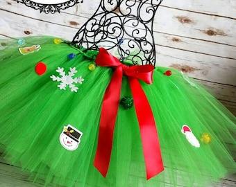 Light up Christmas tree Tutu, Newborn- Adult plus size listing