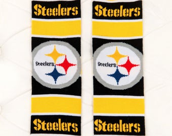 Pittsburgh Steelers Baby Leg Warmers