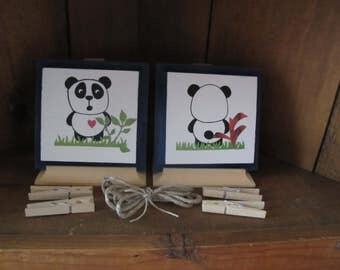 child's Art Work hanger Bear