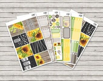 Summer Nights Vertical Weekly Kit - ECLP Stickers