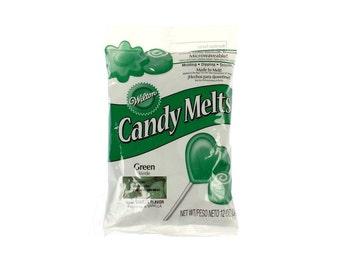 Dark Green Candy Melts  - Wilton - Baking Party Supplies