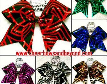 Matrix Cheer Bow