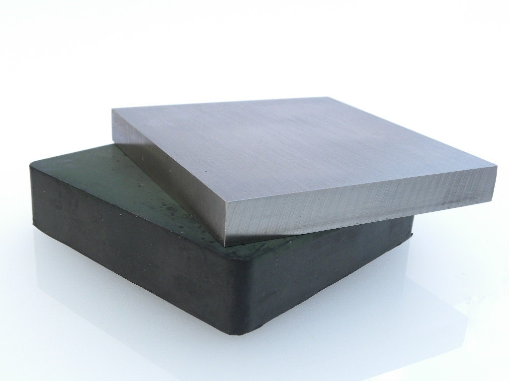 Large Steel Bench Block And Rubber Damping Block Artistic