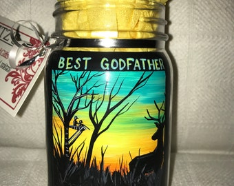 Godfather mason jar