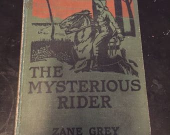 1920s The Mystery Rider by Zane Grey