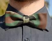 Camouflage bowtie - Adjustable - Unisex