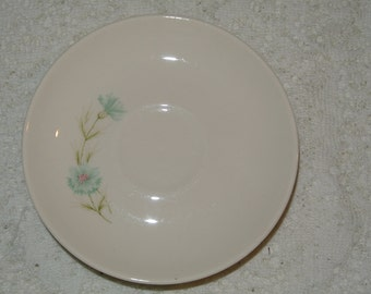 Vintage Taylor, Smith, & Taylor Boutonniere Set of 6 Saucers