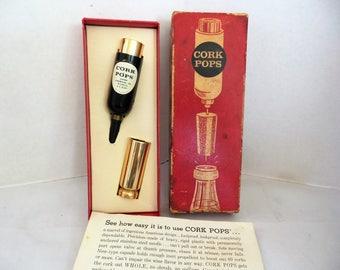 Vintage Cork Pops