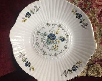 Scallop Floral Ireland Porcelain Tara Galway plate