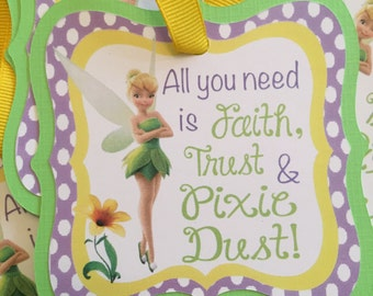Tinker Bell Favor Tags (10ct)