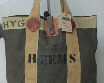 Recycled - Canvas Tote