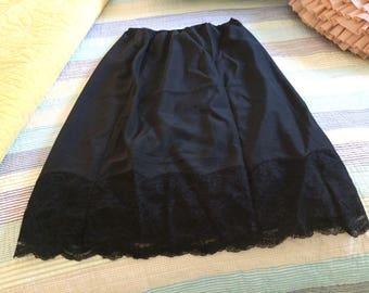 Fischer Heavenly Lingerie Black Half Slip