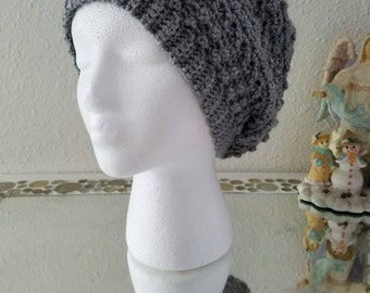 Trendy Textured Slouchy Beret
