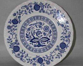 Wedgwood Blue Heritage Pattern Plate
